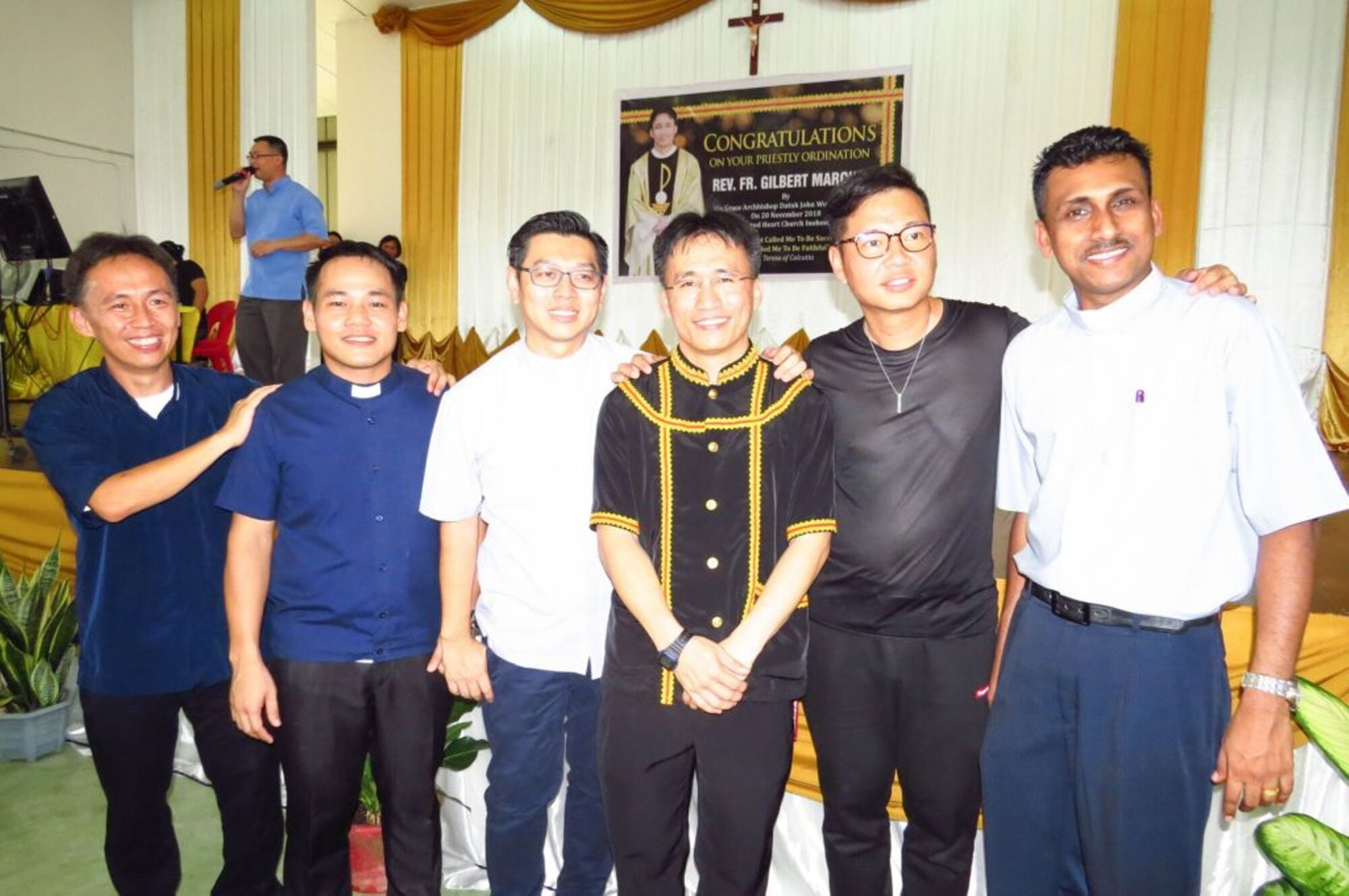 New Priest Grateful For The Many Hands That Form Him