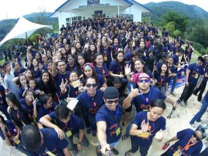 LTYC15 campers taking a wefie