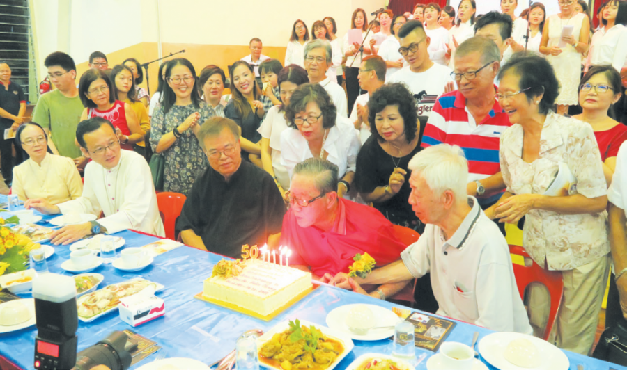 Fr. Felix Chung: 50 Years Of Priesthood