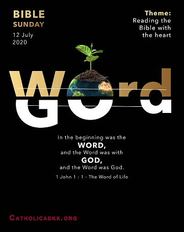Bible Sunday 12 July 2020